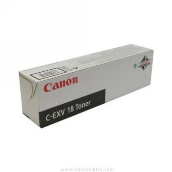 CARTUCHO DE TÓNER NEGRO CANON C-EXV-18