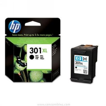 Cartucho de Tinta negro Alta Capacidad HP Nº 301XL