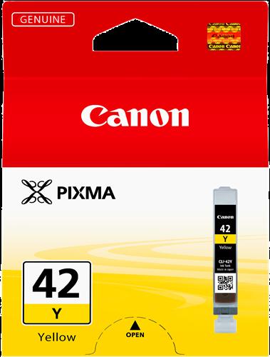CARTUCHO DE TINTA AMARILLO 14 ML CANON CLI-42Y