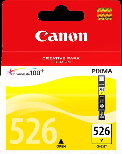 CANON CARTUCHO DE TINTA AMARILLO CLI-526Y 4543B001 9ML