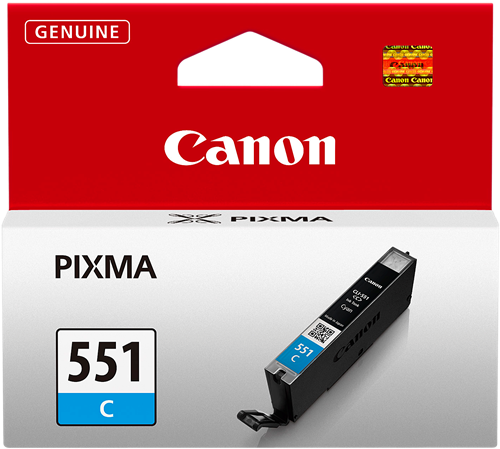 CARTUCHO DE TINTA CIAN 15 ML CANON CLI-551