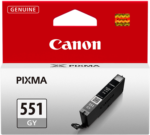 CANON CARTUCHO DE TINTA GRIS CLI-551GY 6512B001 7ML