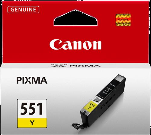 CARTUCHO DE TINTA AMARILLO 15 ML CANON CLI-551Y