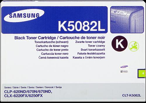 Comprar cartucho de toner CLT-K5082L de Samsung online.