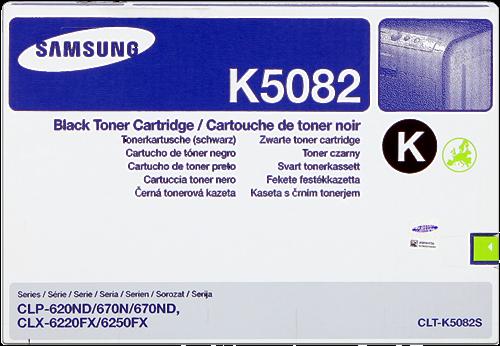 Comprar cartucho de toner CLT-K5082S de Samsung online.