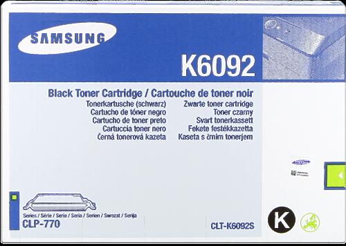 Comprar cartucho de toner CLT-K6092S de Samsung online.