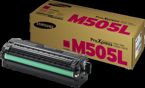 Comprar cartucho de toner CLT-M505L de Samsung online.