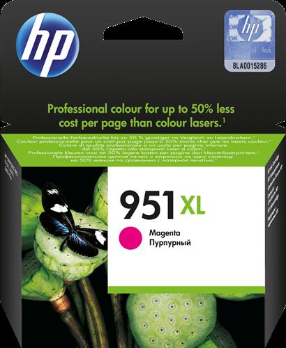 Cartucho de tinta CARTUCHO DE TINTA MAGENTA ALTA CAPACIDAD HP Nº 951XL