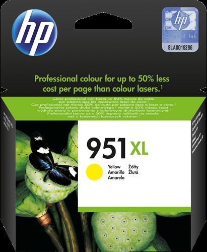 Cartucho de tinta CARTUCHO DE TINTA AMARILLO ALTA CAPACIDAD HP Nº 951XL
