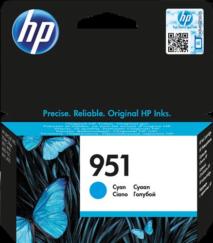 Cartucho de tinta CARTUCHO DE TINTA CIAN HP Nº 951