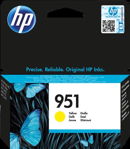 Cartucho de tinta CARTUCHO DE TINTA AMARILLO HP Nº 951