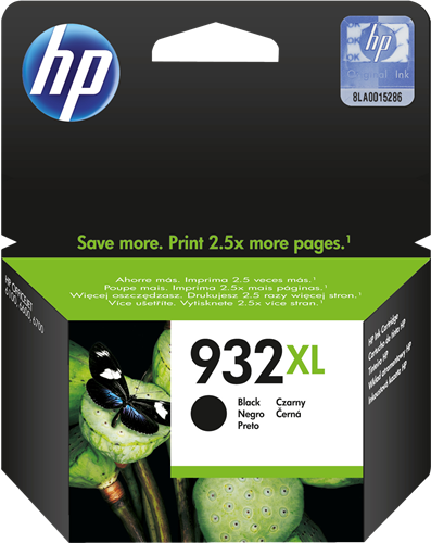 Cartucho de tinta CARTUCHO DE TINTA NEGRO ALTA CAPACIDAD HP Nº 932XL
