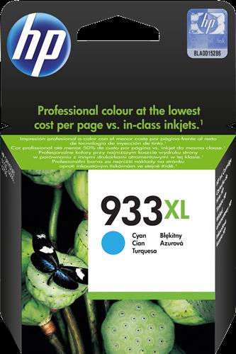 Cartucho de tinta CARTUCHO DE TINTA CIAN ALTA CAPACIDAD HP Nº 933XL