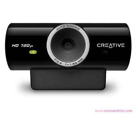 Web cams CÁMARA WEB CREATIVE LABS LIVE! CAM SYNC HD (73VF077000001)