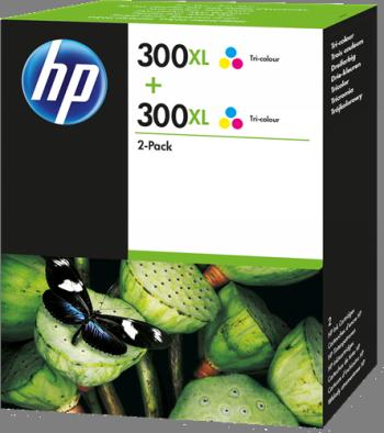 Comprar Pack de 3 cartuchos de tinta alta capacidad D8J44AE de HP online.