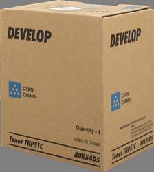 Cartucho de toner Cian Develop TNP-51C
