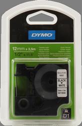 cinta negro sobre Blanco 16957 12 mm x 3 5m Nylon-D1-cinta Dymo