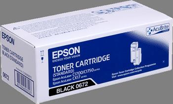 Cartucho de tóner negro Epson S050672