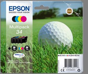Comprar cartucho de tinta C13T34664010 de Epson online.