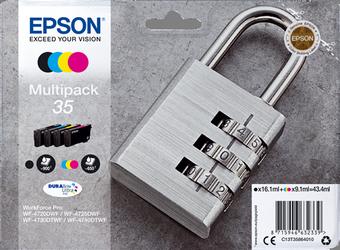 Comprar pack de 3 cartuchos de tinta C13T35864010 de Epson online.