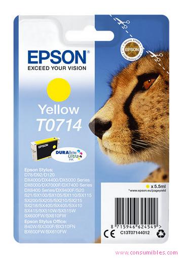 Comprar cartucho de tinta C13T07144012 de Epson online.