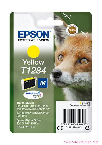 Comprar cartucho de tinta C13T12844012 de Epson online.