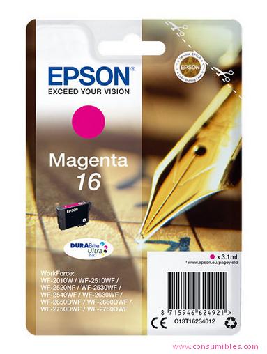 Comprar Cartucho de tinta C13T16234012 de Epson online.