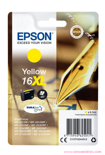 Comprar cartucho de tinta C13T16344012 de Epson online.