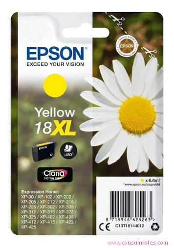 Comprar cartucho de tinta C13T18144012 de Epson online.