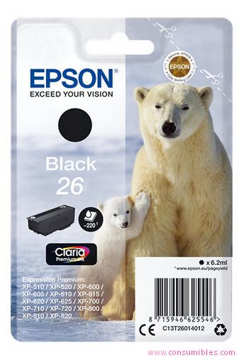 Comprar cartucho de tinta C13T26014012 de Epson online.