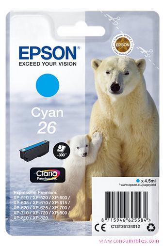 Comprar cartucho de tinta C13T26124012 de Epson online.