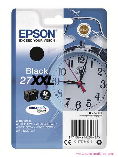 Comprar cartucho de tinta C13T27914012 de Epson online.