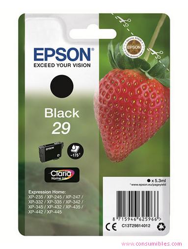 Comprar cartucho de tinta C13T29814012 de Epson online.