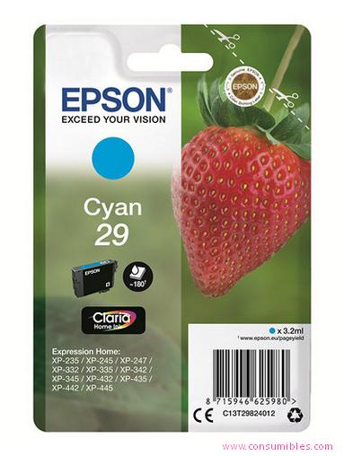 Comprar cartucho de tinta C13T29824012 de Epson online.