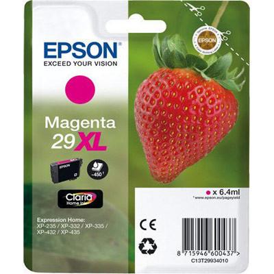 Cartucho de tinta CARTUCHO MAGENTA CLARIA HOME ALTA CAPACIDAD EPSON 29XL