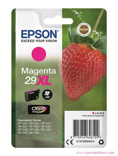 Comprar cartucho de tinta C13T29934012 de Epson online.
