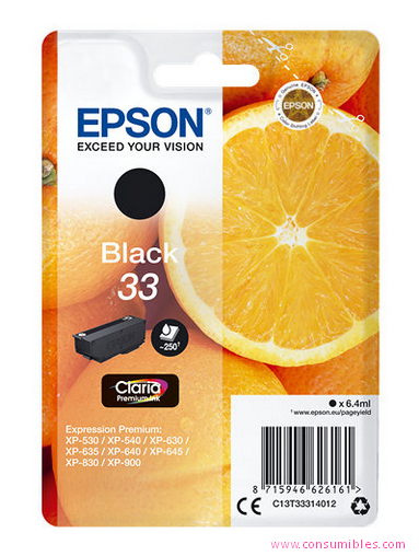 EPSON EXPRESSION HOME XP-530 CARTUCHO NEGRO
