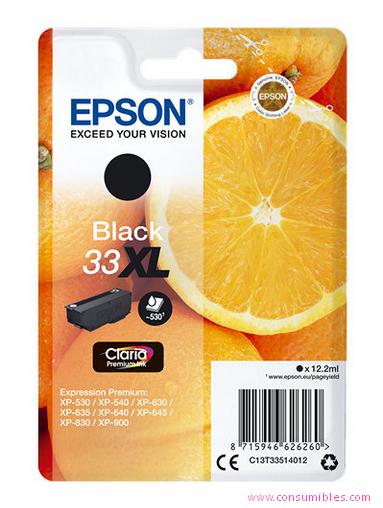 Comprar cartucho de tinta C13T33514012 de Epson online.