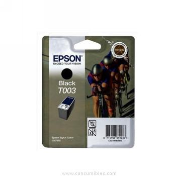 CARTUCHO DE TINTA NEGRO 34 ML EPSON T0030