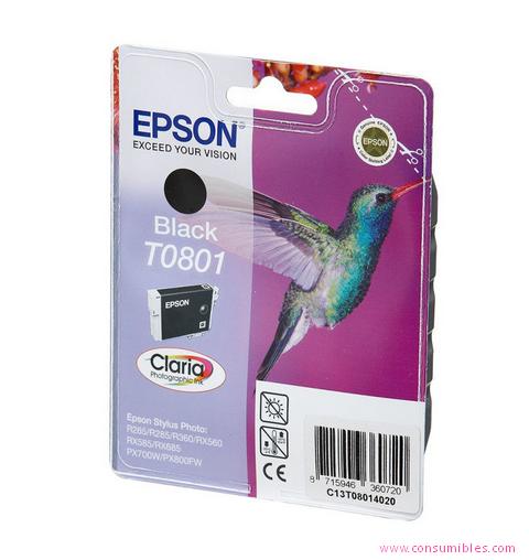 Comprar cartucho de tinta C13T08014011 de Epson online.