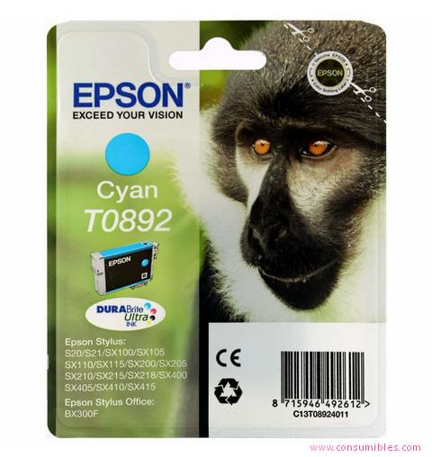 Comprar cartucho de tinta C13T08924011 de Epson online.