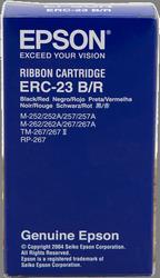 cinta de Nylon negro-Rojo Epson ERC-23BR