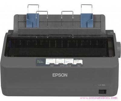 Impresoras matriciales blanco y negro EPSON IMPRESORA MATRICIAL LX-350 MONOCROMO 9 AGUJAS 312 CARACTERES-SEGUNDO C11CC24031