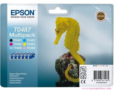 Comprar cartucho de tinta C13T04874010 de Epson online.