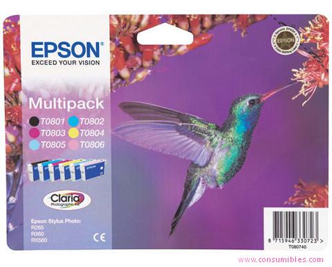 Comprar Value pack cartucho de tinta C13T08074011 de Epson online.