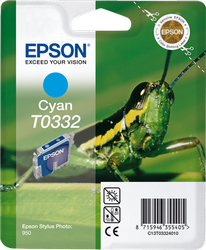 CARTUCHO DE TINTA CIAN EPSON T0332