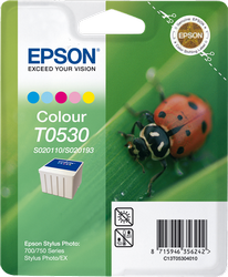 CARTUCHO DE TINTA COLOR 43 ML C13S020110 & C13S020193 EPSON T0530