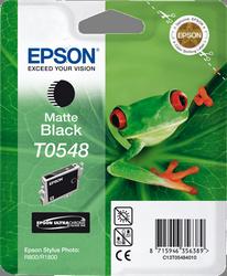 CARTUCHO DE TINTA NEGRO MATE EPSON T0548