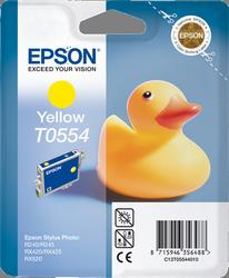 Cartucho de Tinta Amarillo Epson T0554