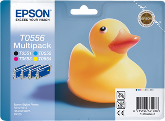 CARTUCHO DE TINTA RAINBOW PACK EPSON T0556